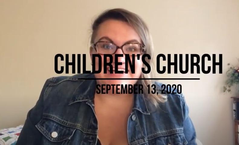 ChildrensChurchSept13
